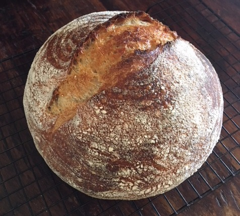 Abbi's first loaf!