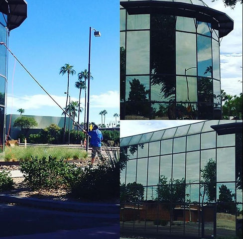 Scottsdale Commercial Window Cleaner