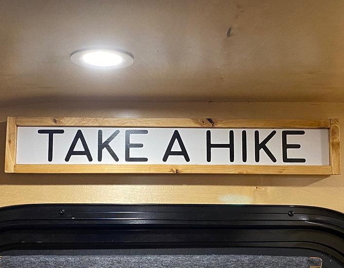 Take A Hike Wall Decor