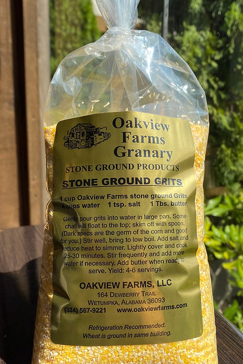 Oakview Farms Granary Stone Ground Grits