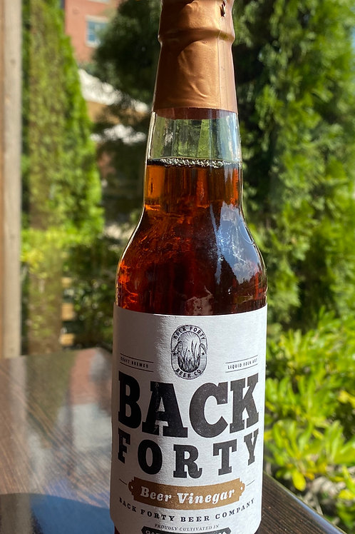 Back Forty Beer Vinegar