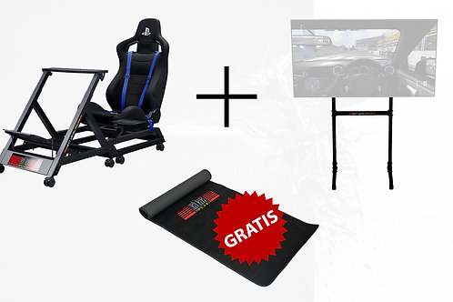 Bundle Race - NLR GTTrack PS4 + NLR Free Standing Single Monitor Stand