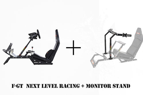 Bundle Race - NLR F-GT + NLR F-GT Monitor Stand