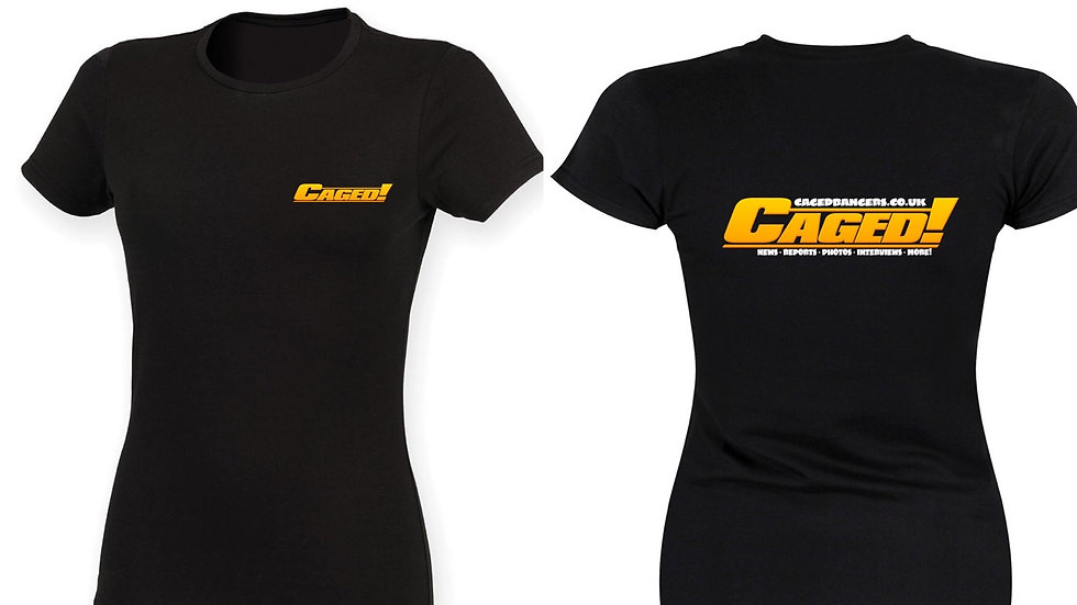 CAGED! T-shirt ladies