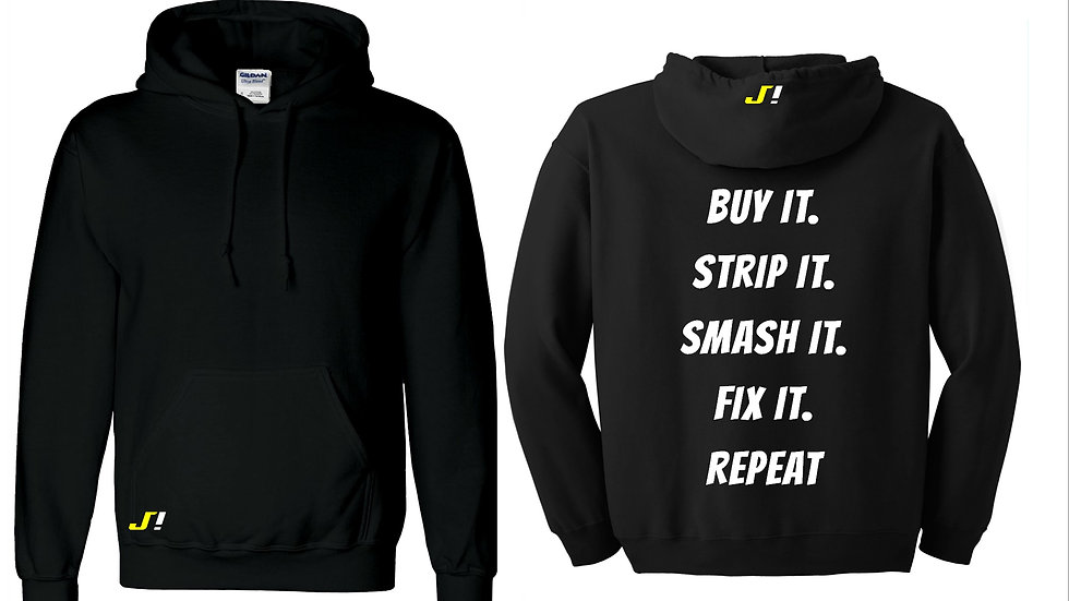 Buy it Strip it hoodie