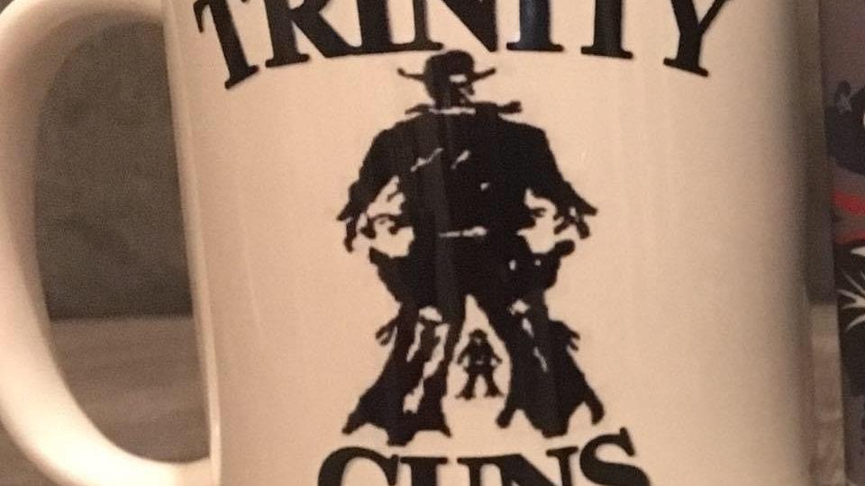 Trinity guns mug