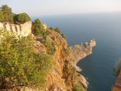 Blick von der Burg Alanya