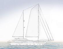 Yacht-Entwurf