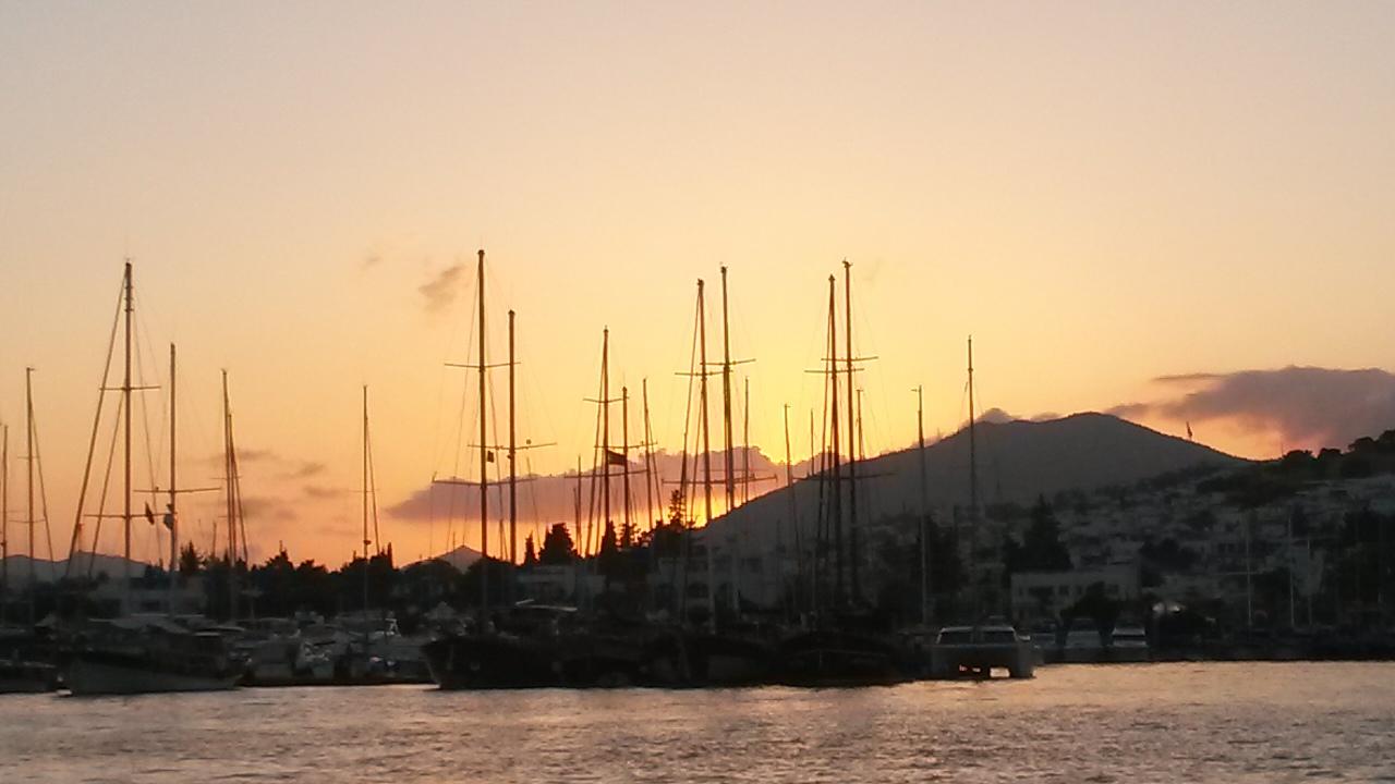 Bodrum Hafen