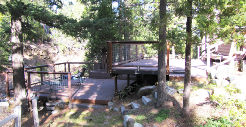 Yoga Retreat Cabin Deck
