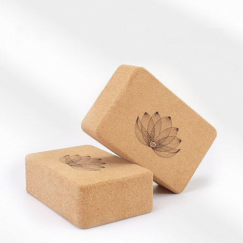 Lotus Cork Yoga Block (Single)