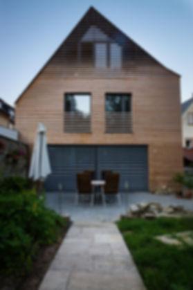 Sanierung Holzfassade
