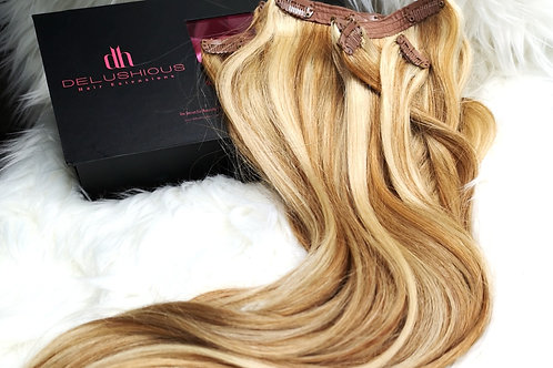 Sandy Blond 22in Clip-in Extensions