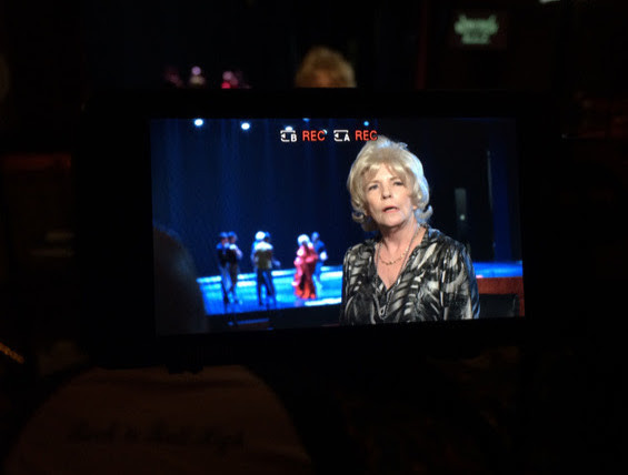 Burlesque Legend Dusty Summers is interviewed for the documentary 'Do the Dance.'