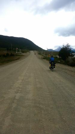Dirt road to Fin Del Mundo