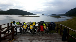 The bikes at the'End of the World'