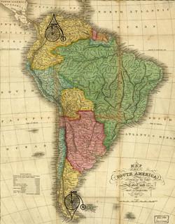 South America, 1826