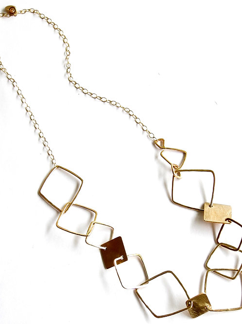 Accented Linked Up Necklace