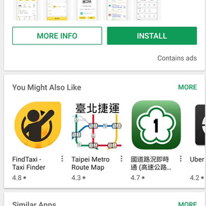 Using an App to get a TAXI 4.1
