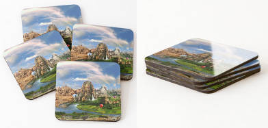Ancient Sites Coaster
