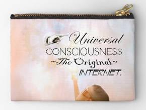 Universal Consciousness Zipper Pouch