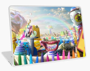 Clown Wasteland Laptop Skin