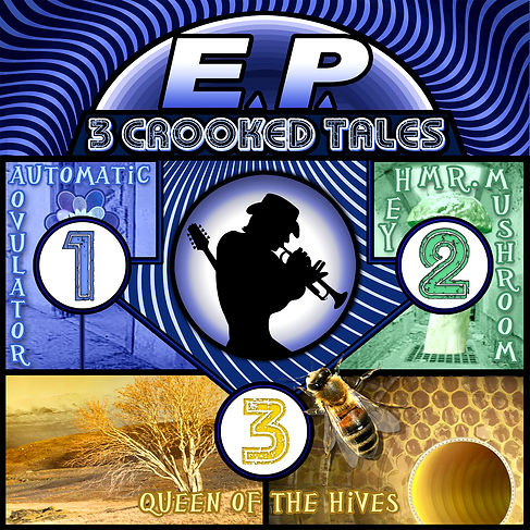 3 Crooked Tales Album Cover
