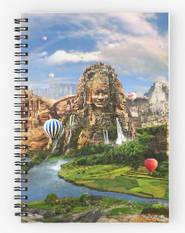 Ancient Sites Spiral Notebook