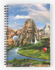 Ancient Sites Spiral Notebook
