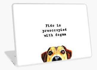 Funny Dog Meme Laptop Skin