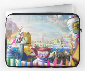 Clown Wasteland Laptop Sleeve