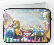 Clown Wasteland Laptop Sleeve
