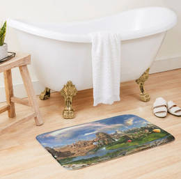 Ancient Sites Bath Mat