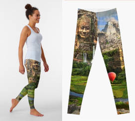 Ancient Sites Leggings