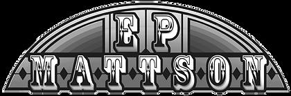 E. P. Mattson Logo