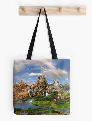 Ancient Sites Tote Bag