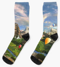Ancient Sites Socks