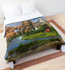 Ancient Sites Comforter