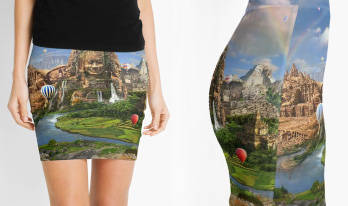 Ancient Sites Skirt