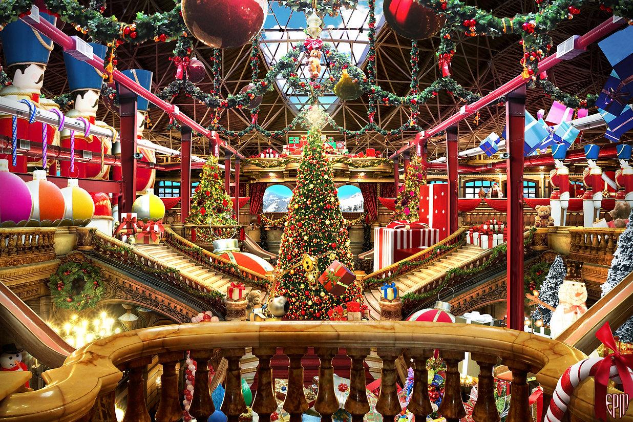 """Santa's Workshop"" by E. P. Mattson"