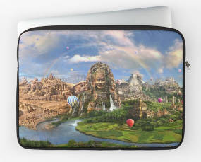 Ancient Sites Laptop Sleeve