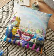 Clown Wasteland Floor Pillow