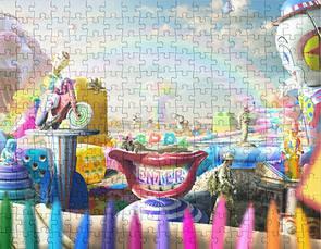 Clown Wasteland Puzzle