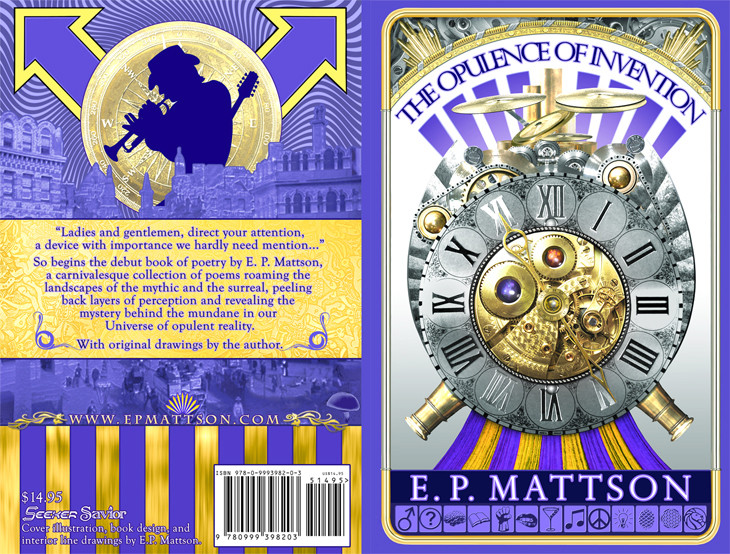 Book Design for The Opulence Of Invention
