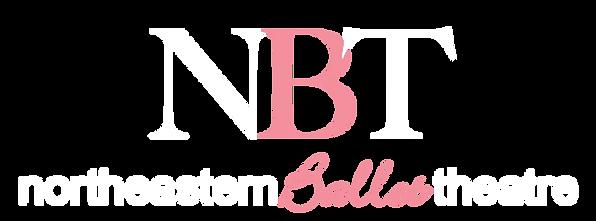NorthEastern Ballet Transparent NBT logo white.png