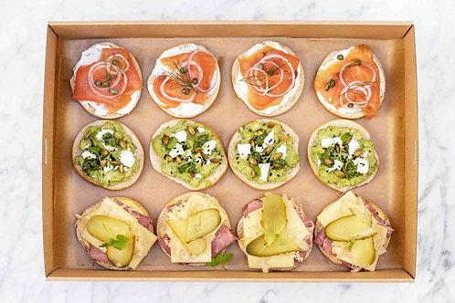 Gourmet Bagels box | 12 pieces