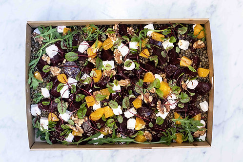 Lentils & Beetroot Salad Box GF | up to 10pp