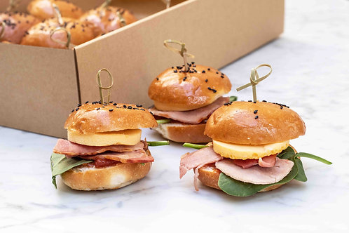Bacon & Frittata Sliders