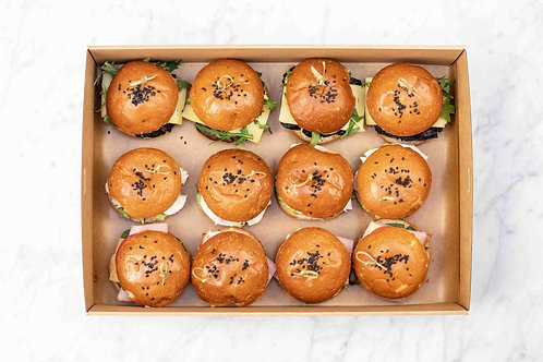 Gourmet Sliders Box | 12 pieces
