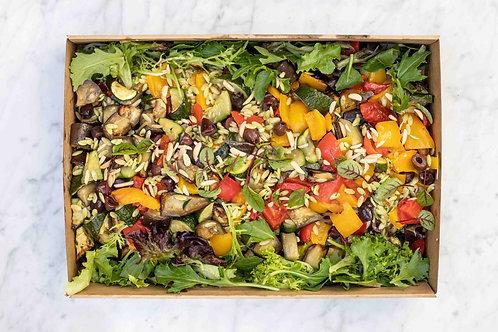 Orzo Pasta & Veggies Salad Box VEGAN | up to 10 pp